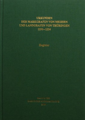 Codex diplomaticus Saxoniae, Registerband A I 3