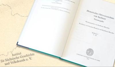 Historisches Ortsverzeichnis von Sachsen - Startseite zur Onlineausgabe