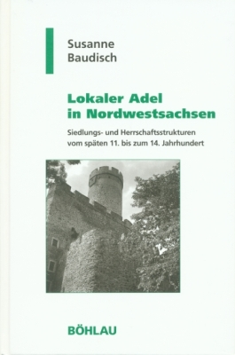 Susanne Baudisch, Lokaler Adel in Nordwestsachsen, Titelcover