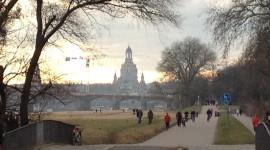 Dresden, am Elbufer, Februar 2015 (@ S. Baudisch)