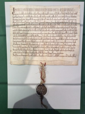 Urkunde 1216 klein